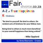 True Happiness Alphabet K
