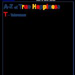 True Happiness Alphabet T