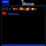 True Happiness Alphabet W