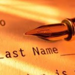 Changing Last Name